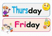 The days of the week ( Part 2 )