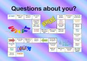 QUESTION ABOUT YOU BOARDGAME