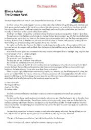 English Worksheet: Short story with activities