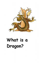 English Worksheets: What is a Dragon?