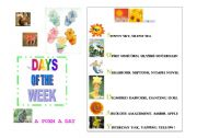 English Worksheet: a poem a day