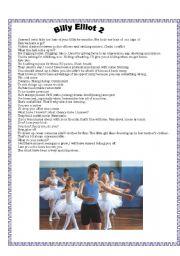 English Worksheets: Billy Elliot (2)