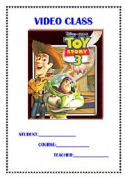 English Worksheets: Toy Story 3!!