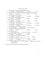 English Worksheets: Island Like You Worksheet