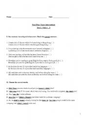 upper intermediate reading test pdf