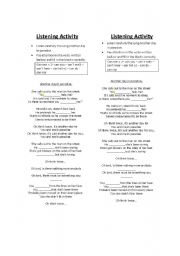 English Worksheet: another day in paradise