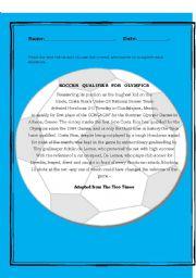 English Worksheet: Sports Reading Comprehension