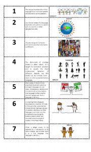 English Worksheets: Language Variation