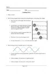 worksheet: Physics - Waves