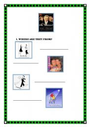 English Worksheet: Shall we dance?