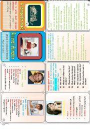 English Worksheet: Back to school minibook N° 2  .Personal  information