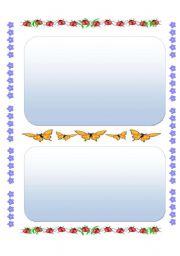 English Worksheets: ladybirds