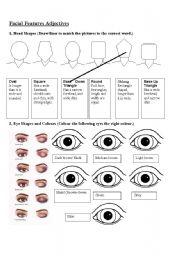 Adjectives To Describe Facial Features 111