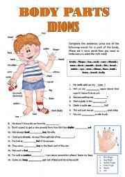 Body Parts Idioms