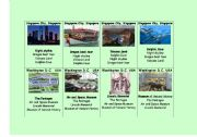 English Worksheets: Part 4 of 4 - Go Fish - CITIES AROUND THE WORLD