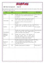 English teaching worksheets the rainbow fish for Rainbow fish lesson plans