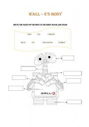 English Worksheets: Wall - e