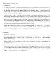 English Worksheets: teroris