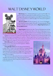English Worksheet: Reading paper