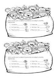English Worksheets: how many???