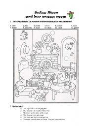 English Worksheet: Betsy Moon