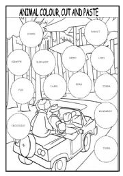 Kindergarten Phonics Cut And Paste Worksheets. Kindergarten. Best ...