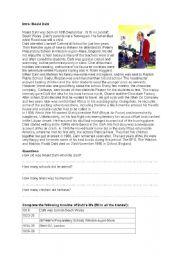 English Worksheet: Roald Dahl: his life and Revolting Rhymes