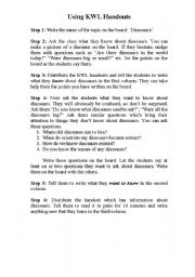 English Worksheets: KWL