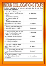 Noun collocations 4