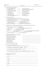 English Worksheets: attitudes