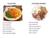 British Dishes Pairwork