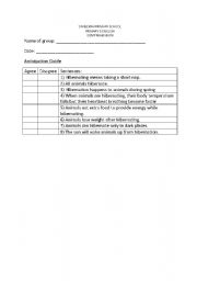 English Worksheets: anticipation guide