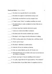 Stand And Deliver Movie Worksheet Answers - Worksheets