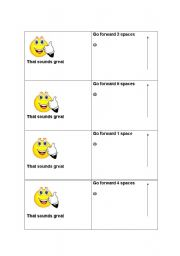 English Worksheet: Let�s .... Suggestions and Invitations Board Game 2 (cards)