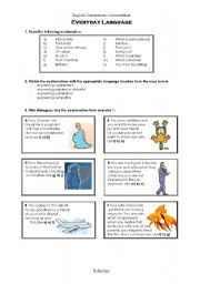English Worksheets: Conversation For Adults