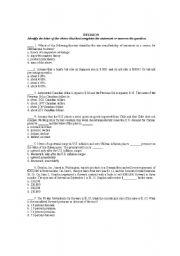 English Worksheets: revision for international finance management