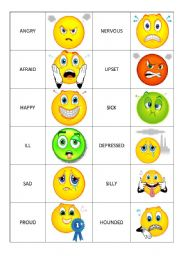 List of mood words for elementary students