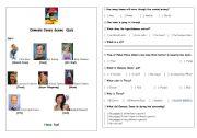 English worksheets: Osmosis Jones Scene 7 Quiz