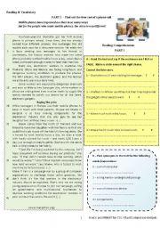 English Worksheet: Mobile Phones -