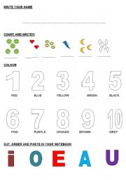 English Worksheets: YOUNGER STUDENT�S PRACTISE