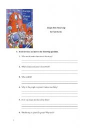 English Worksheets: EScape from Planet Zog
