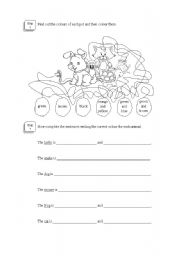 English worksheet: Animals (part 2)