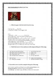 English Worksheets: song by Black Eyed Peas