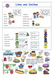 Likes And Dislikes Esl Worksheet By Olindalima F