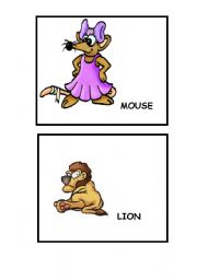 English Worksheets: ANIMALS...