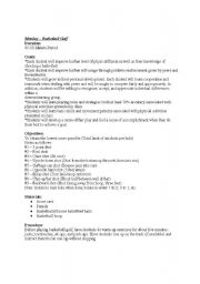 English Worksheet: Basketball Golf