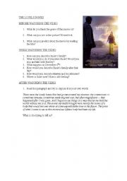 English Worksheets: The lovely bones movie