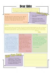 English Worksheets: Writing Advice: Intermediate