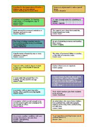 English Worksheets: what�s the word?