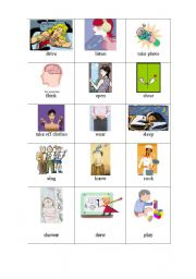 English Worksheets: Action 2 (Series picture)